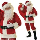 Velour Complete Outfit Christmas Costumes