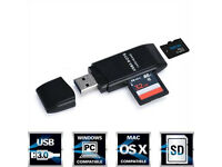 5Gbps Super Speed USB 3.0 Micro SDXC Card Reader