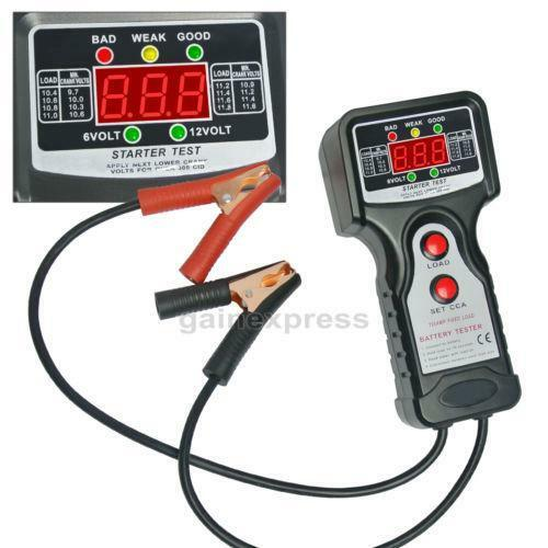 Electronic Battery Tester : Digital battery load tester ebay