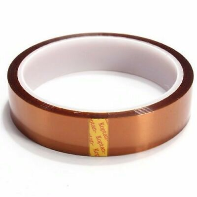 20mm100ft Kapton Higher Temperature Heat Resistant Polyimide Thermal Tape Usa
