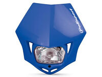 New Polisport MMX Headlight Enduro Road Legal Blue