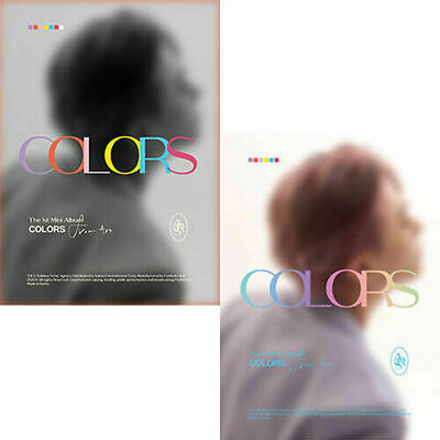 GOT7 YOUNGJAE [COLORS FROM ARS] 1st Mini Album RANDOM CD+Book+3Card+Photo+etc