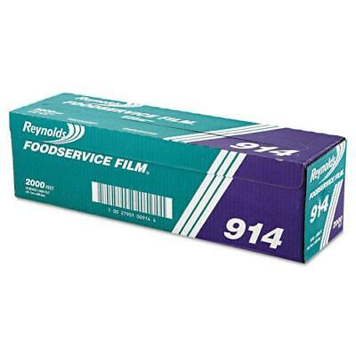 Reynolds Wrap Pvc Film Roll With Cutter Box 18 X 2000 Ft Clear 1 Roll