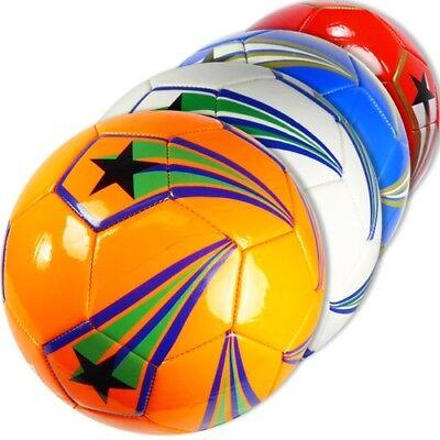 Official Size Shooting Stars Soccer Balls Wholesale Bulk Lot (Pack of 12)