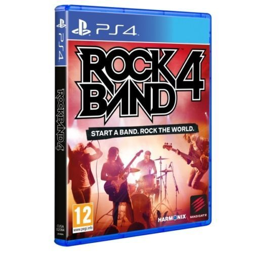 Rock Band 4 PS4 Game Only Very Good -1st Class Delivery