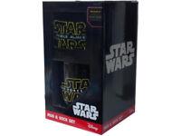 star wars mug & sox set, storage chest and bag new