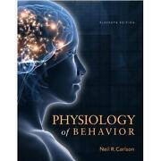 Physiology of Behaviour Carlson