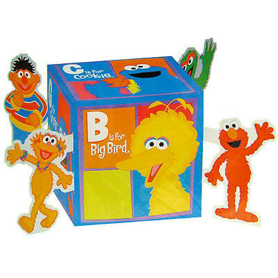 SESAME STREET P is for Party PAPER CENTERPIECE ~ Birthday Supplies Table - Table Centrepieces For Birthdays