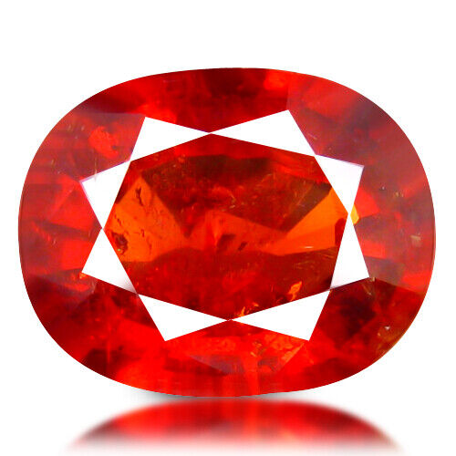 4.39 ct AMAZING NATURAL TOP LUSTER MANDRINE FANTA ORANGE SPESSARTITE GARNET