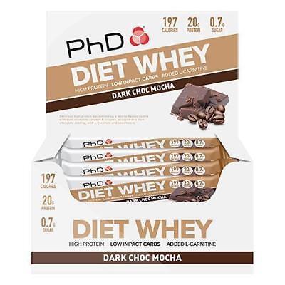 Geschmack Diät (Phd Nutrition Diät Weizen 12x65g Riegel - Alle Geschmacksrichtungen (Neue)
