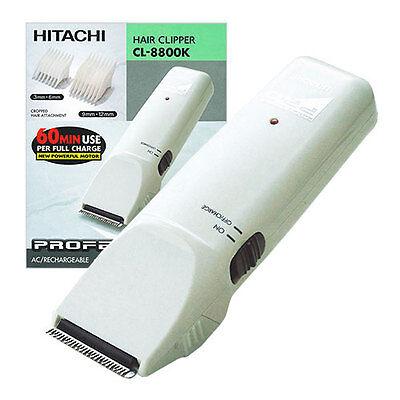 HITACHI CL-8800K Professional Rechargeable Trimmer Hair Clip