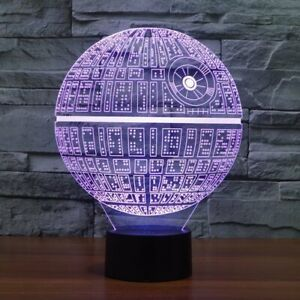 Milenium star 3D color changing lamp 100% NEW
