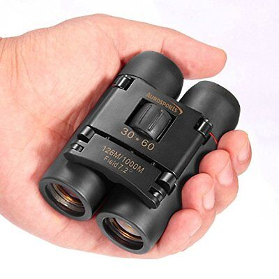 30x60 Binoculars Compact Mini Pocket Size Night Vision Spy Concert Hunting