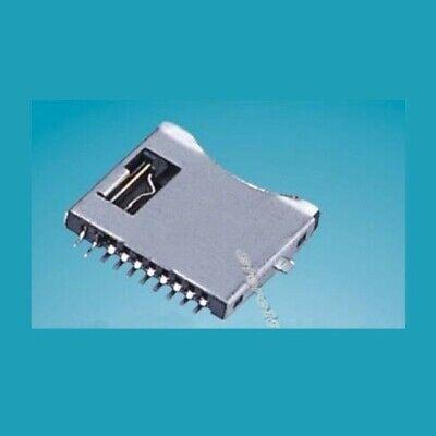 Micro Sd Memory Card Socket Slot 10pin Connector S682monoprice Maker Select V2