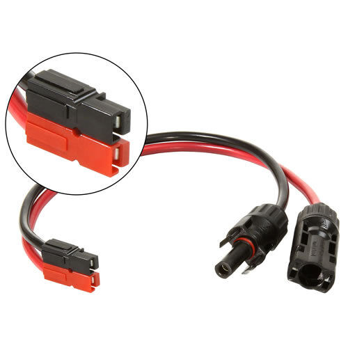 Solar Power Cable to Anderson Powerpole Connector Adapter Cable