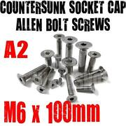 M6 Countersunk Bolts