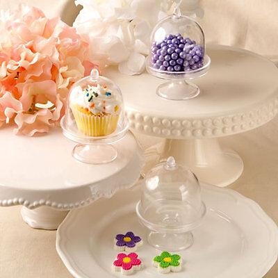 100 Cup Cake or Treat Stands Favor Wedding Favors Bridal Shower Favor Boxes - Bulk Cupcake Boxes