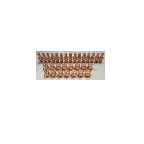 Trafimet Plasma Cutter Torch A-81 Consumables Kit: 30 pc