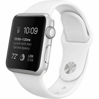Apple Watch Series 7000 38mm Silver Aluminum Case Sport Band B GRADE