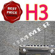 Hummer H3 Chrome Kit