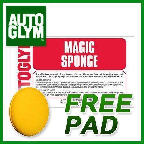 autoglym magic sponge cleaning waxing valeting ebay. Black Bedroom Furniture Sets. Home Design Ideas