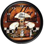Fat Chef Clock