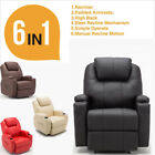 Faux Leather Leather Recliners