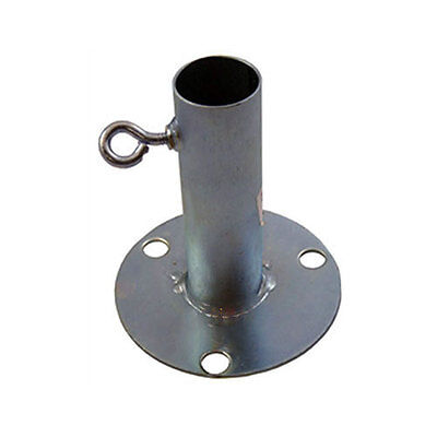 Canopy Fittings - 6 Heavy duty Foot Pad Stands for 1 Inch EMT Pipe - (Heavy Duty 6 Pad)