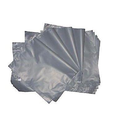 1000 Medium Grey Mailing Plastic Bags 25x30cm 10x14