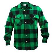 Mens Flannel Shirt Medium