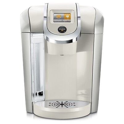 Keurig K475 Plus K-Cup Coffee Machine Maker Brewer | SANDY PEARL | BRAND NEW
