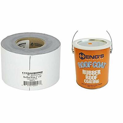 Eternabond Rsw-4-50 Roofseal Sealant Tape White-4 X 50 Hengs Rubber Roof...