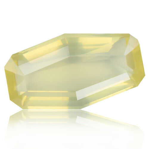 Andesine 7.17ct rich yellow color 100% natural earth mined from Africa