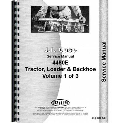 Case 480e Tractor Loader Backhoe Service Manual