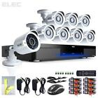 8 CH Home Security Camera System