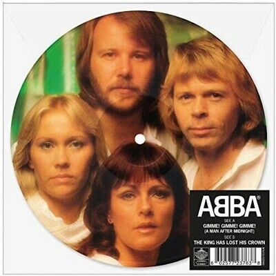 """ABBA - Gimme Gimme Gimme (A Man After Midnight) (Picture Disc) [New 7"""" Vinyl] Pi"""