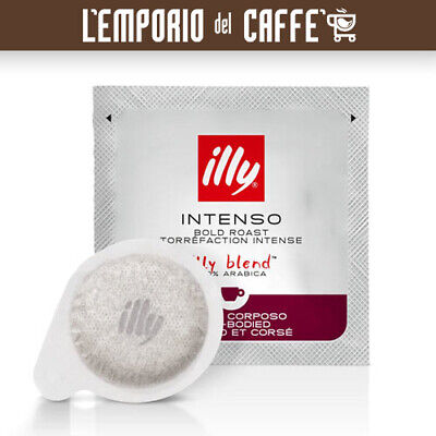 Café Illy 150 Cápsulas Filtro de Papel Ese 44mm Tostado Intenso Ex...