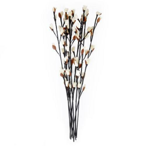 Twigs With Lights Vase Home Decoration