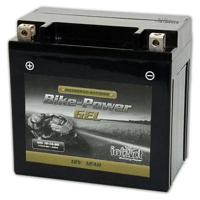 Intact Motorrad Batterie Bike-Power Gel 12V 12Ah YTX14-BS 51214 Gel12-14-BS NEU