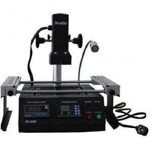 Full IR BGA Rework Station Reflow Reball Scotle IR6000 Upgrade PWNZ ACHI IR6000