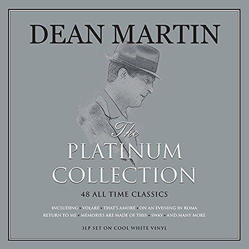 DEAN MARTIN THE PLATINUM COLLECTION - 3 LP SET ON COOL WHITE VINYL, 48 CLASSICS