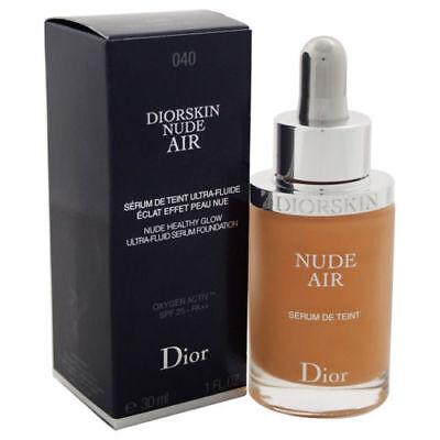 Diorskin Nude Air Ultra-Fluid Serum Foundation  SPF 25~ 040 Honey Beige, 1oz NIB