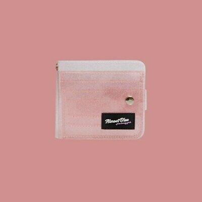 Almost Blue Twinkle Jelly Wallet Peach Pearly Kpop Teen Goods Fashion ij