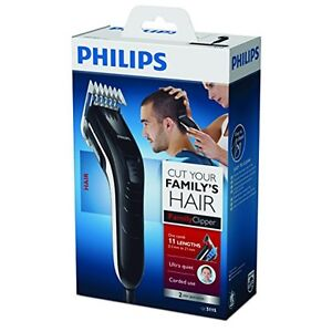 PHILIPS QC5115 family hair clipper 11 lock-in length settings: 3 to 21 mm - <span itemprop='availableAtOrFrom'>Slupsk, Polska</span> - PHILIPS QC5115 family hair clipper 11 lock-in length settings: 3 to 21 mm - Slupsk, Polska