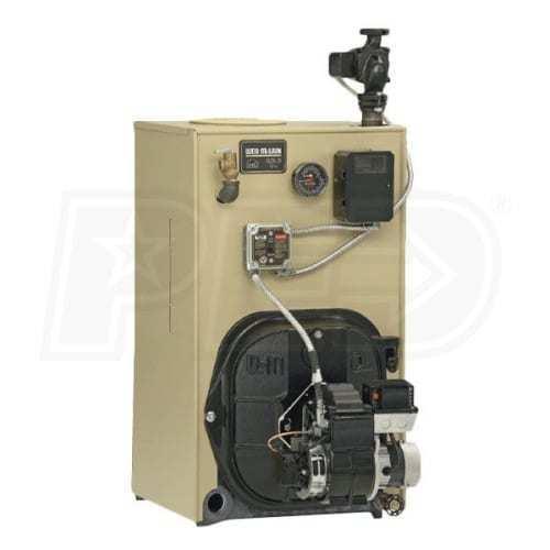 Weil Mclain P-wtgo-6 212k Btu 85% Afue Oil Boiler W/ Tankless Coil, L/ Burner