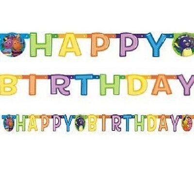 The BACKYARDIGANS ~ (1) Happy Birthday Banner ~ Birthday Party Supply Decoration