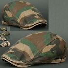 Men's Newsboy Cap Military Hats
