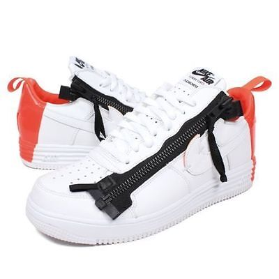 Nike Lunar Force 1 Sp   Acronym Mens Size 12 13 White Bright Crimson 698699 116