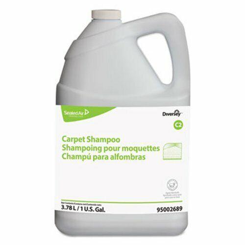 Diversey Carpet Shampoo, Floral, 1gal Bottle, 4/Carton (DVO95002689)