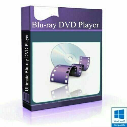 Video Player Software Blu-ray DVD CD AVI Mp4 DivX Wmv Mpeg // Windows // MAC